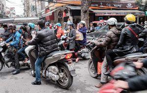 I survived Hanoi traffic