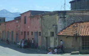 Förort till staden Shkodër