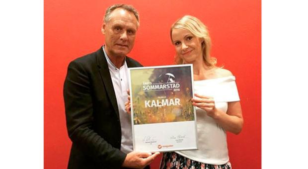 Grattis Kalmar, för andra året i rad, Årets Sommarstad 2016!