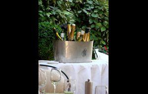 Champagne cooling, Relais du Parc.