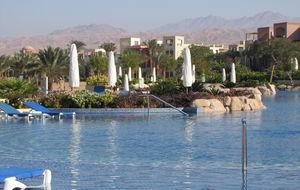 Hotellområdet i Tala Bay