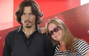 Johnny & me.