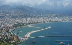 Utsikt över hamnen