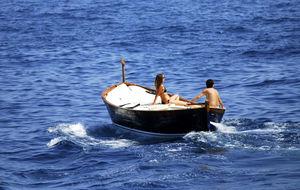 det ljuva båtlivet i Portofino