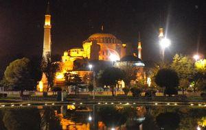 Hagia Sophia nattetid
