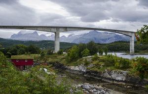 Bron över Saltstraumen
