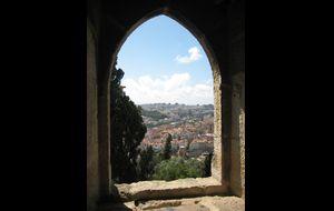Vy från Castelo de Sao Jorge
