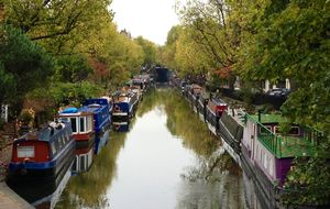 Little Venice, vid Warwick Avenue.