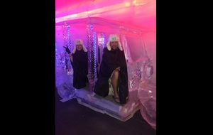 Ice Bar in Chaweng. -7 grader..brrr