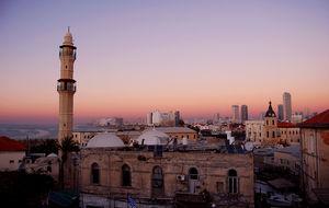 Tel Aviv Jaffa sun down