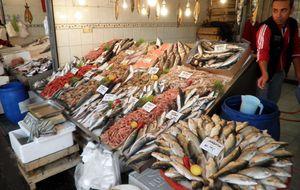Fiskmarknaden i Kemer