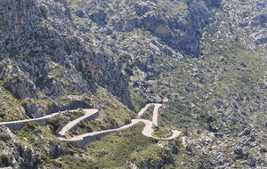 Spanien. Mallorca. sa Calobra road