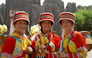 Tre traditionella Kineser