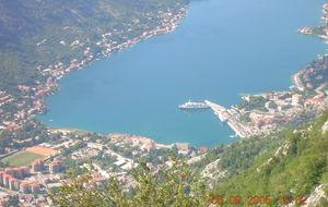 Montenegros fjordar.