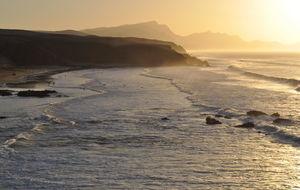 Fuerteventuras västkust - Fuerteventura. Playa Del Viejo Rey