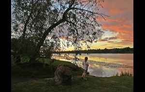 Nere vid ån - Pärnu
