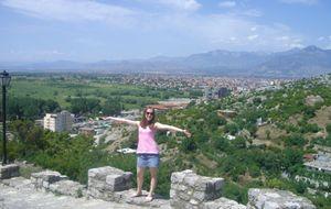 Utsikt över staden Shkodër