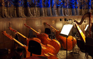 Orkesterdiket i pausen