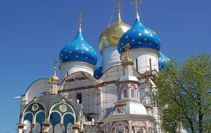 Sergijs Treenighetskloster bortom Moskva