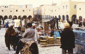 Marknadsplatsen i Ghardaia