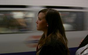 Zarah i tunnelbanan