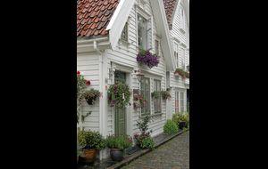 Blomsterprakt i Gamle Stavanger