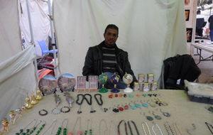 försäljning av beduinhantverk...