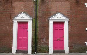 Fina dörrar på Canal Street