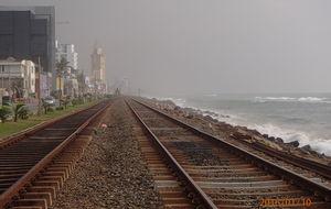 Järnvägen i Colombo