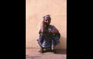 Gambiansk kvinna