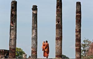 monk n temple
