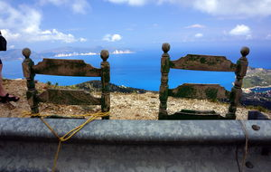Grekisk utsiktsplats