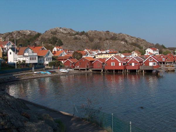 Lilla Rågårdsviks samhälle på Skaftö. - Rågårdsvik - Sverige
