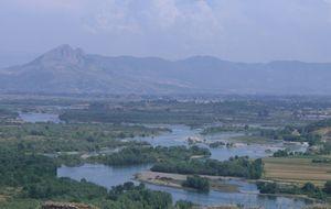 Utsikt från fästningen Rozafa