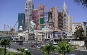 New York New York i Las Vegas