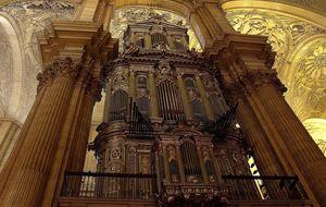 orgeln i málagas katedral