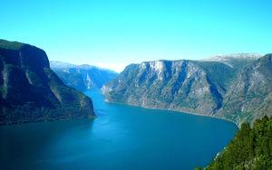 Sognefjorden är Norges längsta fjord och en fantastisk syn.