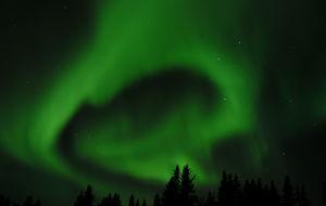 Norrsken i Jukkasjärvi