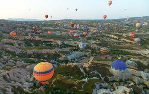 Luftballong över Kappadokien