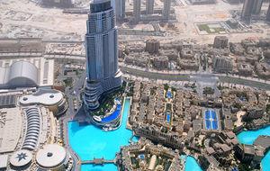 Från Burj Kahlifa