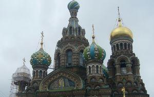 Uppståndelsekyrkan i Sankt Petersburg