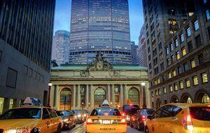 Trafikstockning på Manhattan