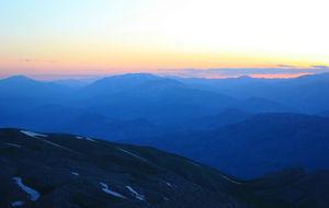 Solnedgång från Nemrut