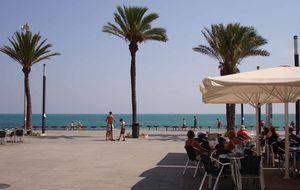 Strandpromenad Torrevieja