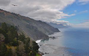 Highway 1, vid Big Sur.