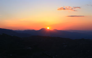 Soluppgång från Nemrut