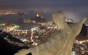 Överblick av Cristo Redentor,  Corcovado