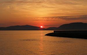 Solnedgång Alghero