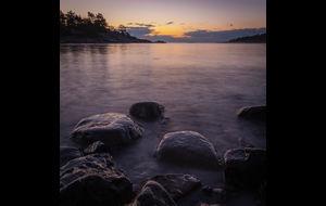 Novembermorgon i Roslagen