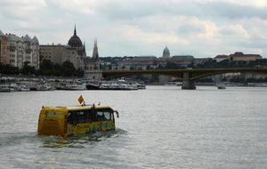 Busstur på Donau